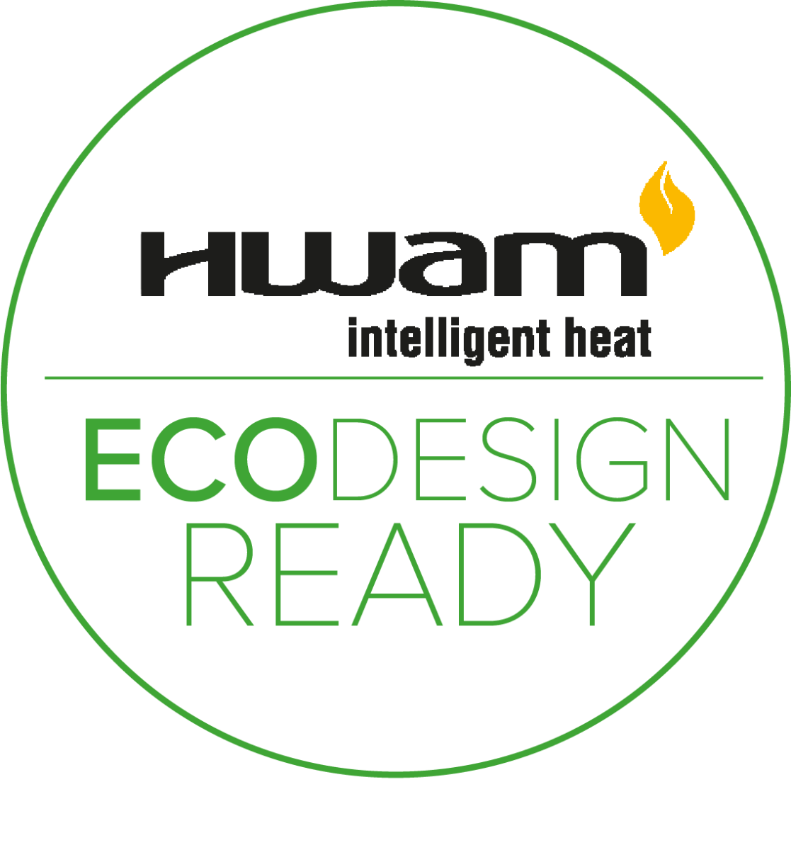 All HWAM models are ECODESIGN 2022 approved