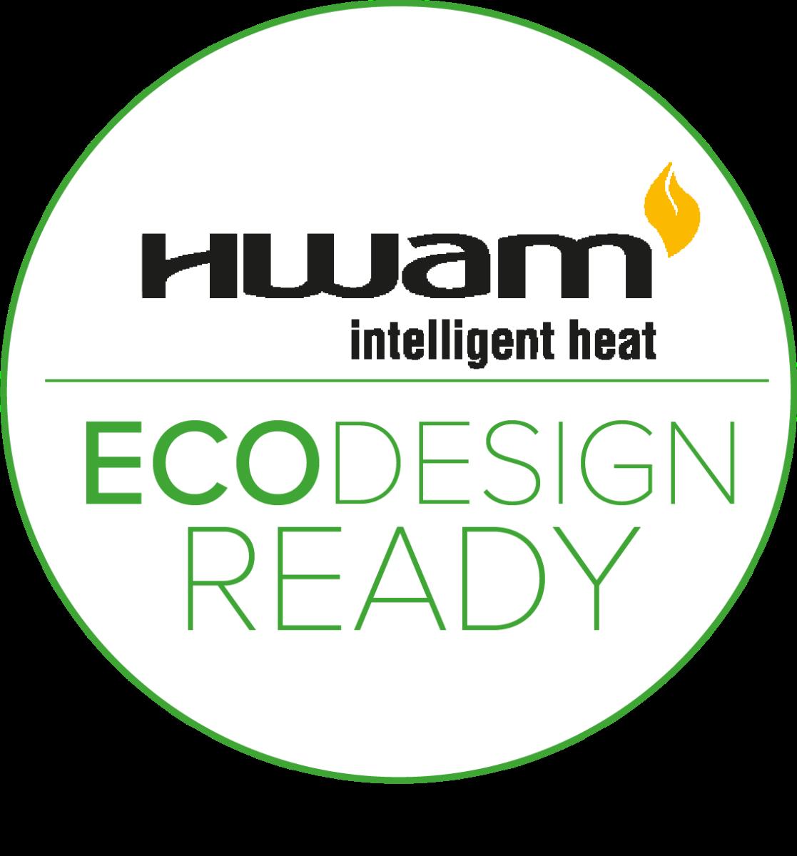 Alle HWAM-modeller er ECODESIGN 2022-godkjent