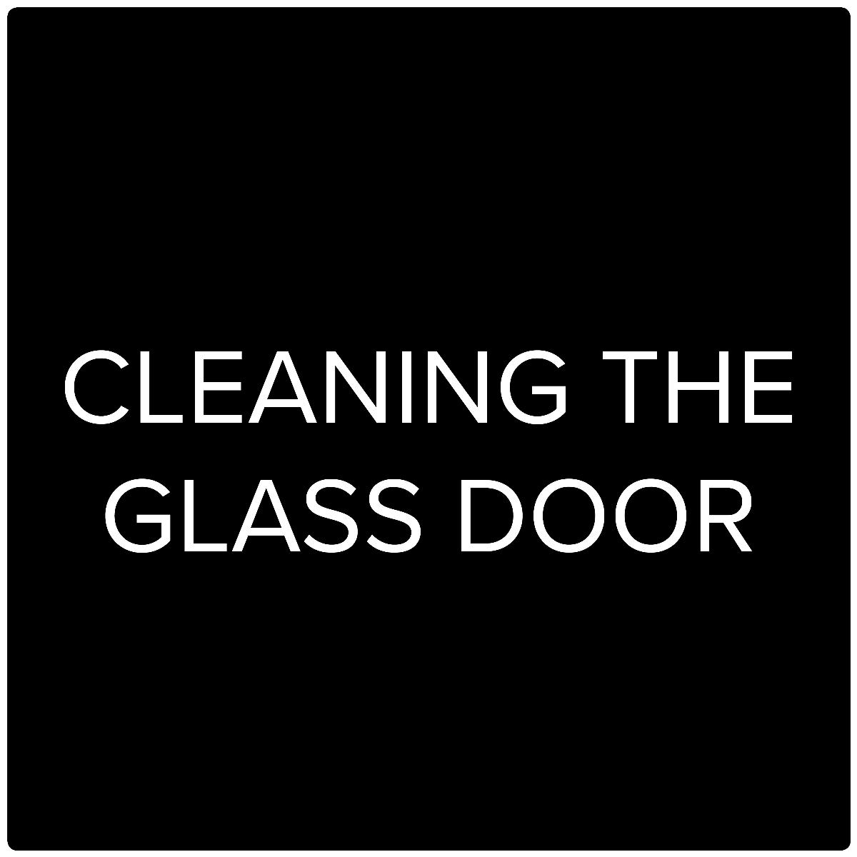 HWAM Video: Cleaning the glass door